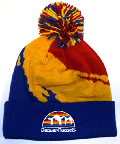 fan products of Mitchell & Ness NBA Denver Nuggets Basketball Paint Beanie