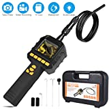 Borescope Inspection Camera, Dericam Endoscope Camera with Record Video and Take Photo, IP67 Waterproof Industrial Endoscope Batteries Included