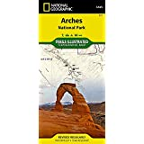 Arches National Park (National Geographic Trails Illustrated Map)