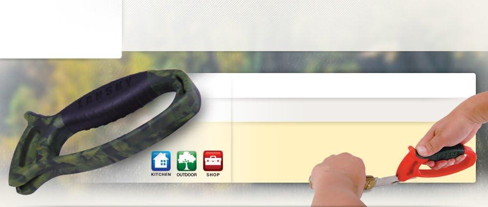 LANSKY Deluxe Quick Edge Sharpener Rubber Grip For Maximum Comfort LSTCN NEW