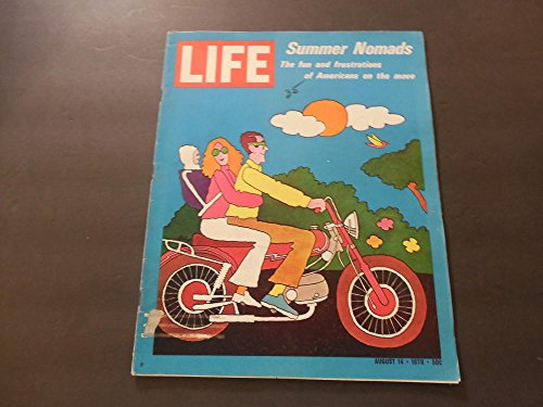 Life Aug 14 1970 Americans On The Move; Houseboats; Frustrated Youth
