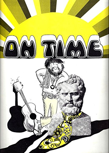 "Alfred Drake ""ON TIME"" Lana Cantrell 1969 Musical FLOP Souvenir Program"