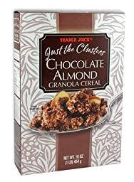 Trader Joe\'s Just the Clusters Chocolate Almond Granola Cereal (2 Pack)