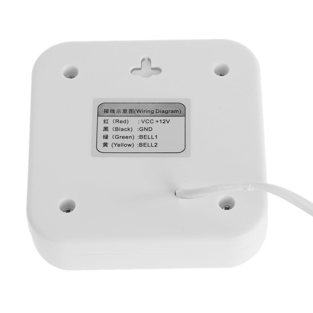 Kangnice Dc 12v Ring Ding Dong Ringer Access Control Wired Doorbell Broan Door Chimes Wiring Diagram External