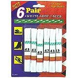 White Shoe Laces - Case of 72