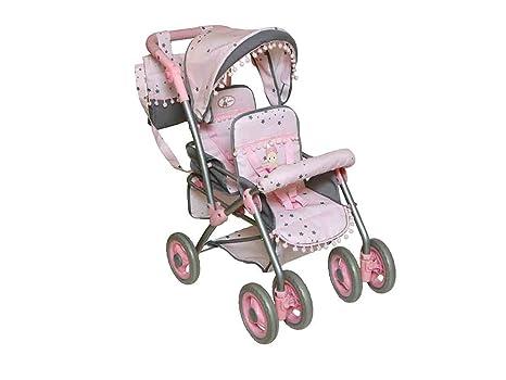 Decuevas Toys - Silla gemelar para muñecas con Bolso (90306)