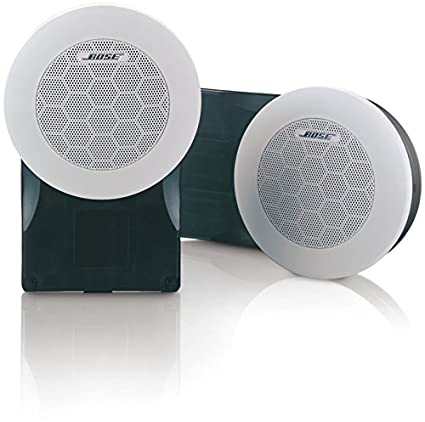 Amazon Com Bose 131 Flush Mounted Marine Speakers Arctic White