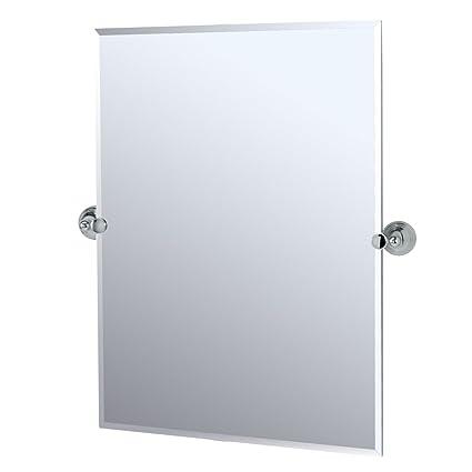 Amazon.com: Gatco Charlotte rectangular espejo de pared ...