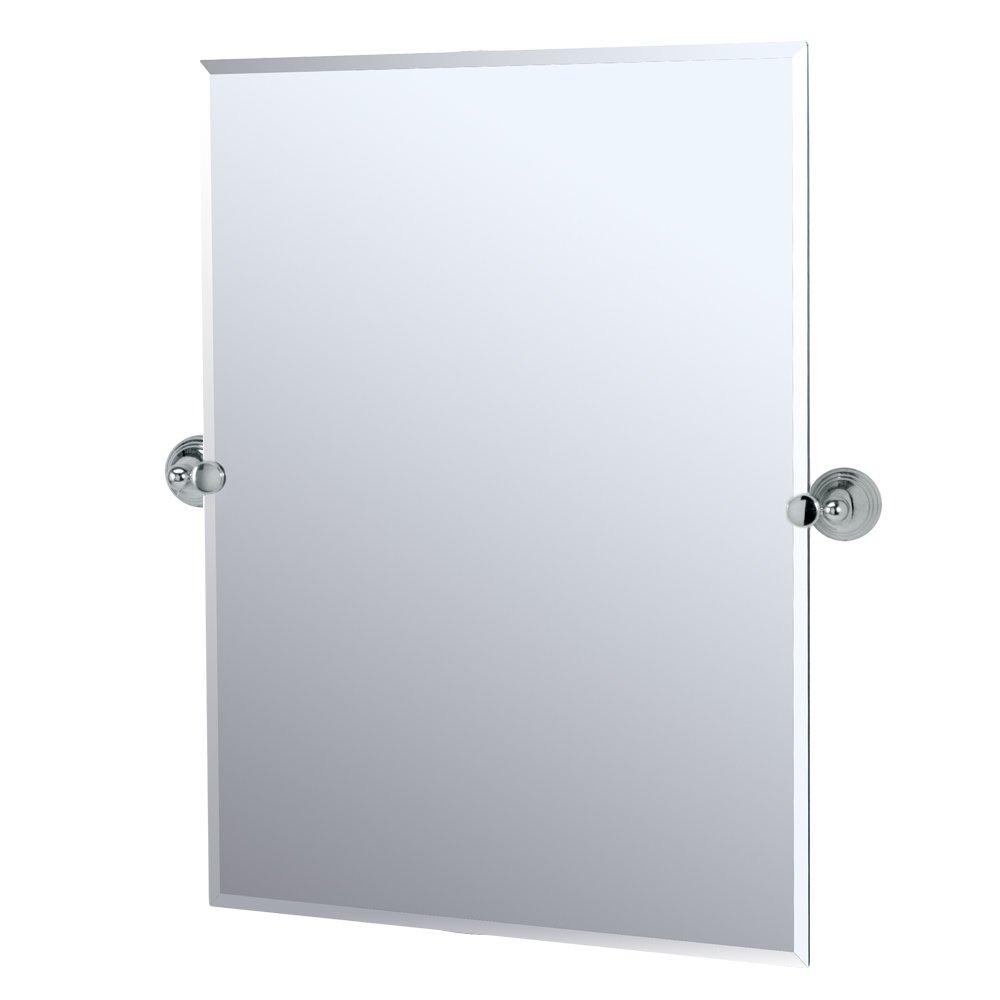 Gatco 4359s Charlotte Rectangle Wall Mirror, Chrome
