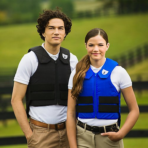Tipperary Ride-Lite Vest Youth Large Black