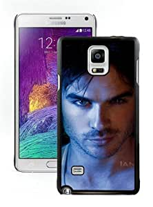 High Quality Samsung Galaxy Note 4 Case ,Cool And Fantastic Designed Case With Ian Somerhalder 2 Black Samsung Galaxy Note 4 Cover