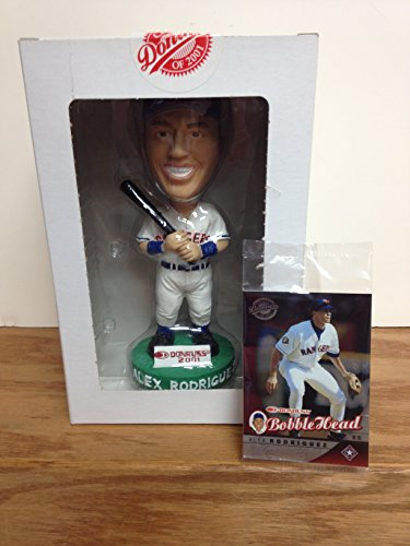 Alex Rodriguez Texas Rangers 2001 Donruss Limited Edition Promo Bobblehead with Trading Card
