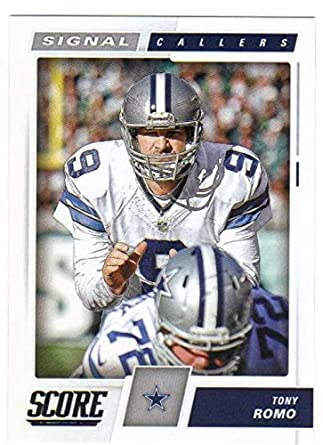 Amazon.com  2017 Panini Score Football Signal Callers  2 Tony Romo ... a00848c3f