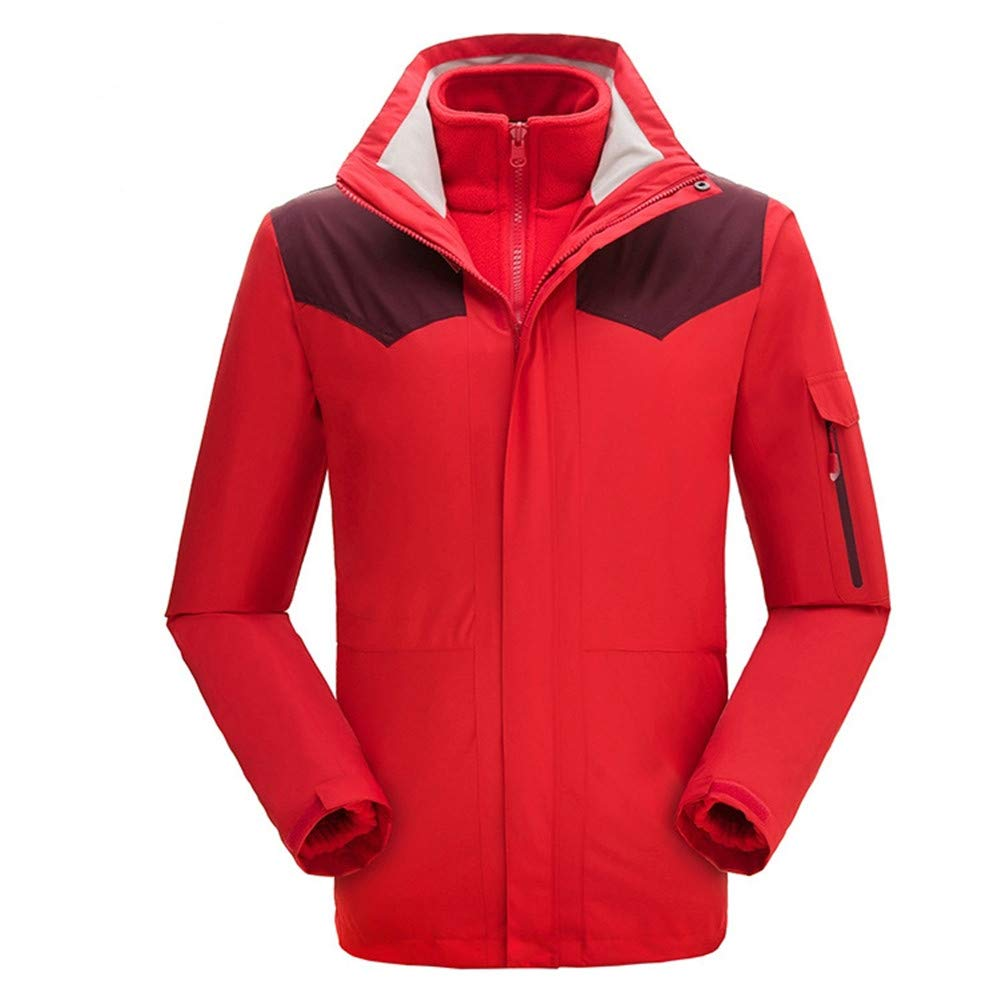 AiNaMei Frauen-Outdoor-Jacke verdicken Plus samt Skianzüge