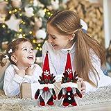 ISWAKI Christmas Gnome Decorations Indoor Gnome