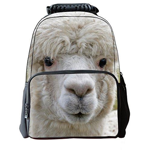 Explorer Mens Costume Dora The (3D Print Animal School Bookbag Backpack for kids,Laptop Bags for Boys and Girls Alpaca)