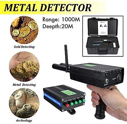 Teabelle Detector de Metales Agarrador Antena Metal Buscador de ...