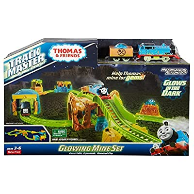 Fisher-Price Thomas & Friends TrackMaster, Glowing Mine Set: Toys & Games