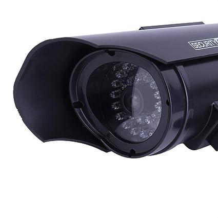 Cámara de vigilancia del CCTV casera de imitación casera Falsa ficticia al Aire Libre práctica de