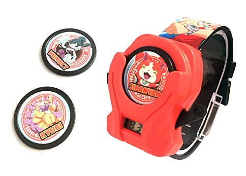 Price comparison product image Yo-Kai Disck Shooter LCD Watch