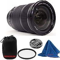 Canon EF 24-105mm f/3.5-5.6 IS STM Lens (White Box Bulk Packaging) DBPREMIUM Lens Bundle + High Definition U.V. Filter + Deluxe Pouch for Canon Digital SLR Cameras