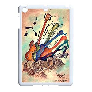 FOR Ipad Mini Case -(DXJ PHONE CASE)-Love Guitar,Love Music-PATTERN 2