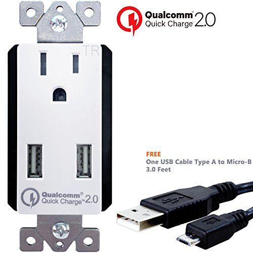Charge TOPGREENER Outlets TU1152QC Charger product image