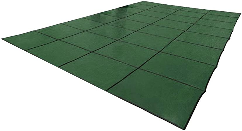 In The Swim 20 x 40 Foot Rectangle Swimming Pool Leaf Net Cover