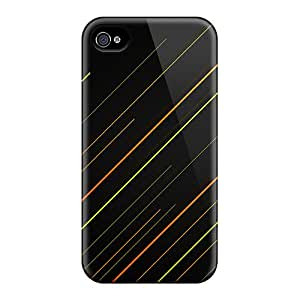 Hard Plastic Iphone 4/4s Case Back Cover,hot Linear 2 Case At Perfect Diy