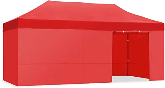 Kewayes CARPLE-3X6 ROJO Plegable Impermeable Exterior, Carpa de ...
