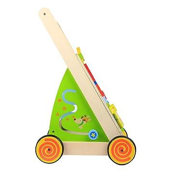 Andador Prevención de madera de Educación Temprana Puzzle Empujar ...