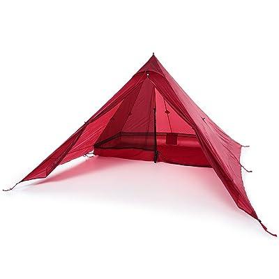 """Lixada Tente Ultralight 2 Personne Tente Portée Backpacking Revêtement en Silicone Résidentiel Tente de Camping Tarp Sun Shelter Auvent + 73 """"* 24"""" Camping Cot"""