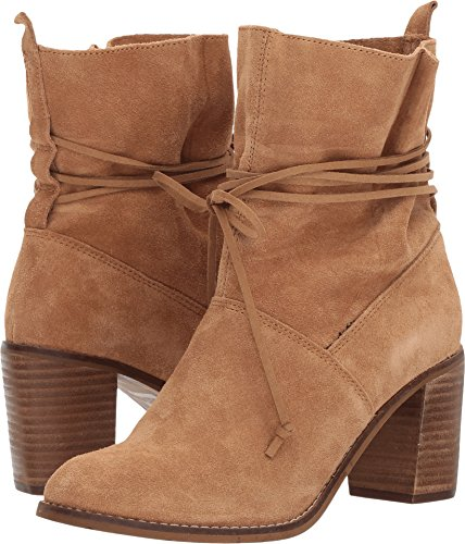 TOMS Women's Mila Toffee Suede Boots 8.5 (Boots For Toms Women)