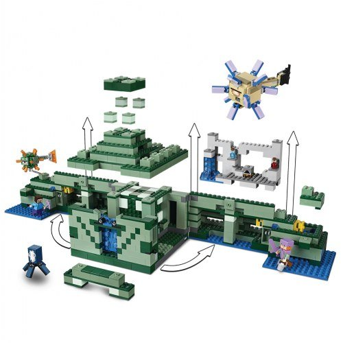 LEGO Minecraft the Ocean Monument 21136 Building Kit (1122 Piece) by LEGO (Image #3)