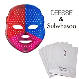 DEESSE LED FACIAL MASK Home Aesthetic Mask, Self-Care SBT-MLLT + Sulwhasoo Innerise Complete Mask Sheet 10EA (Special Gift)