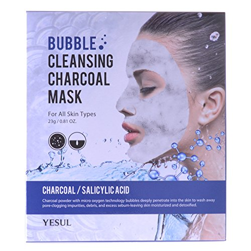 Price comparison product image Yesul Bubble Cleansing Charcoal Mask (5 ct)