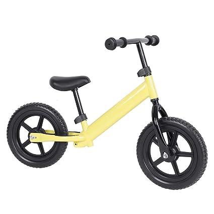 SOULONG sin Pedales Bicicleta niño 12 Pulgadas Bicicleta de ...