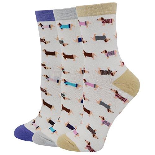 Dachshund Socks Dog Socks (OneSize, D01)