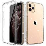 iPhone 11 Pro Shockproof Glitter Case With Built-in Screen Protector, Slim Fit Design Anti-Drop Anti-Scratch Full-Body Protective Phone Case, [Lifetime Replacement]Rugged Case Cover Cubevit 2019(5.8')
