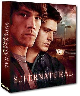 Supernatural Season 3 Trading Card Album