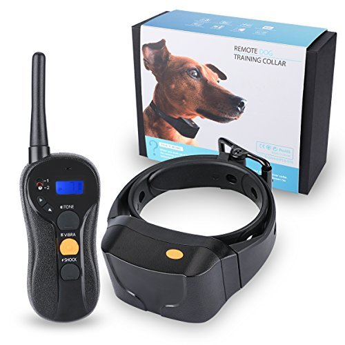 Magisor Dog Training Collar Rechargeable IPX7 Waterproof Shock Collar For All Dogs,Tone/Vibra/Shock by Magisor