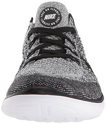 Femme Blanc Free 2018 Flyknit Black 101 RN Running White de Nike Chaussures 7w80wq