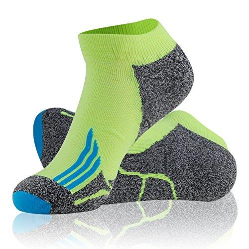Marathon Socks, LANDUNCIAGA Men Plantar Fasciitis Arch Support Women Low Cut Running Compression Racing Workout (Clothes Cut Outs)
