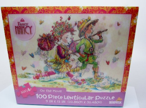 - Fancy Nancy 100 piece Lenticular Puzzle Briarpatch On The Move