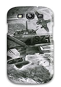 Evelyn Alas Elder's Shop Best 8691044K70702221 Snap On Case Cover Skin For Galaxy S3(aircraft)
