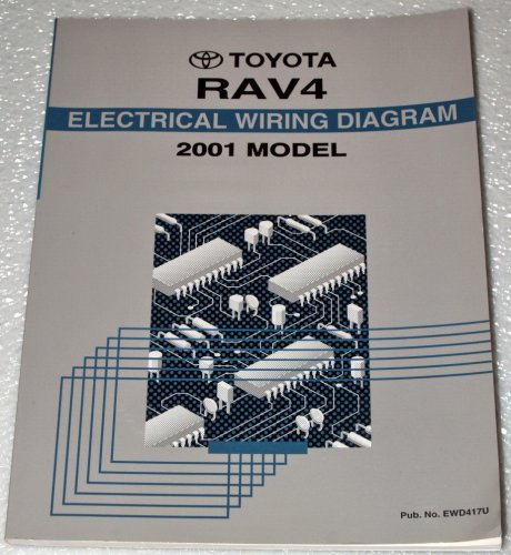 2001 Toyota RAV4 Electrical Wiring Diagrams (ACA21, ACA26 Series) (Electrical Wiring Diagrams compare prices)