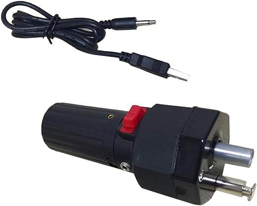 SM SunniMix DC 5V Moteurs de Barbecue /Électrique en Aluminium Camping et C/âble USB