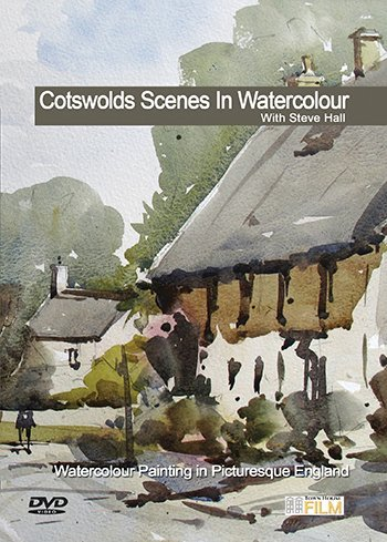 Price comparison product image Cotswold Scenes in Watercolour with Steve Hall DVD