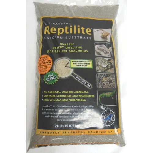 (Caribsea Aquariam Reptilite Smokey Sands 20Lb)