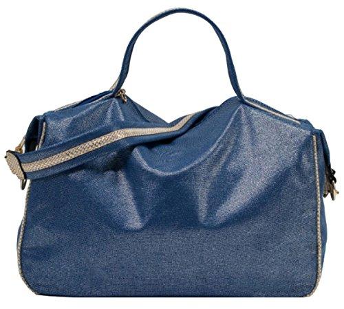 Handbags Para Mujer Asas Bolso Material Azul Girly De Sintético dqCnY